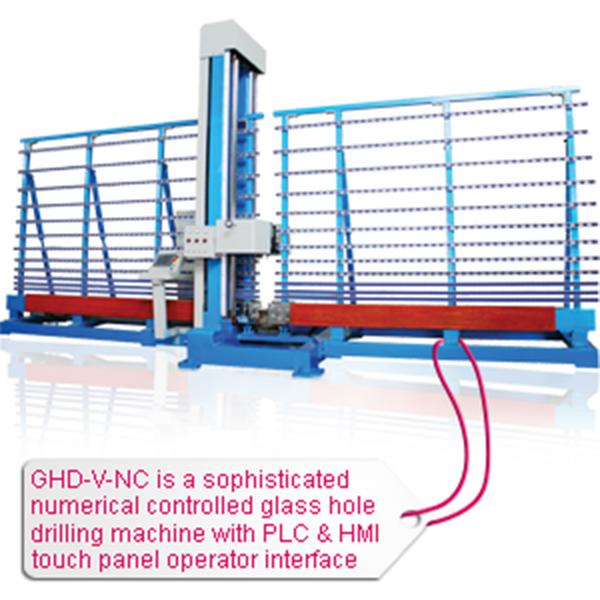 GHD-V-NC Glass drilling machine02